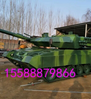 大型坦克模型