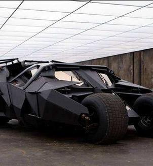 蝙蝠侠摩托车模型