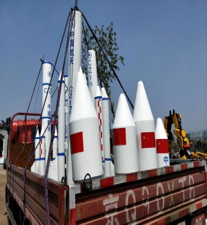大型火箭模型
